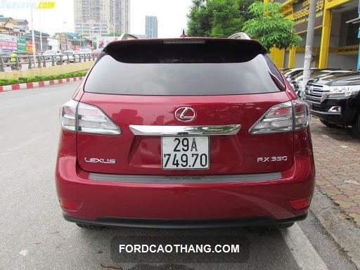 bán xe lexus rx350 đời 2010