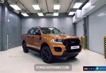 danh gia xe Ford Ranger 2021