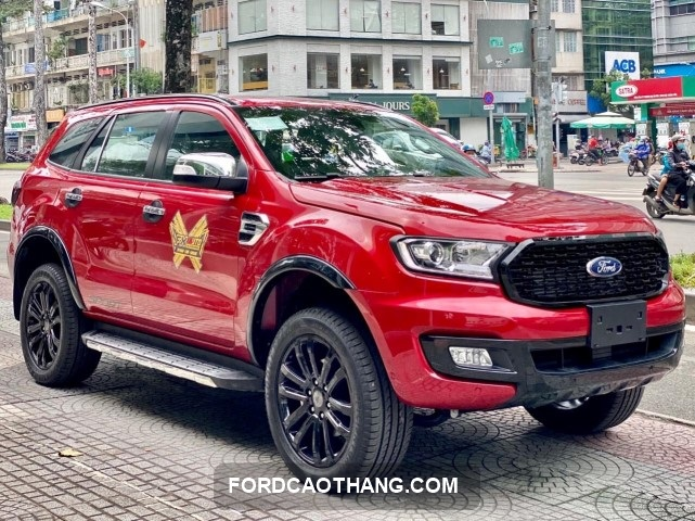 Facelift Ford Evrest 2021