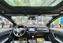 ben trong xe Ford Everest 2021
