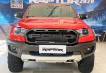 Ford Ranger Raptor 2021 mau do