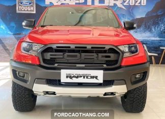 Ford Ranger Raptor 2021 mau do