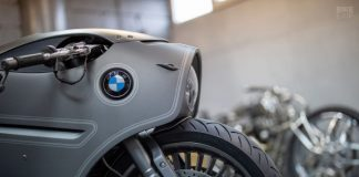can canh bmw r nine t