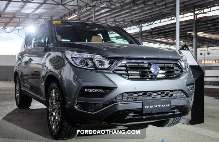 danh gia xe Ssangyong Rexton 2021