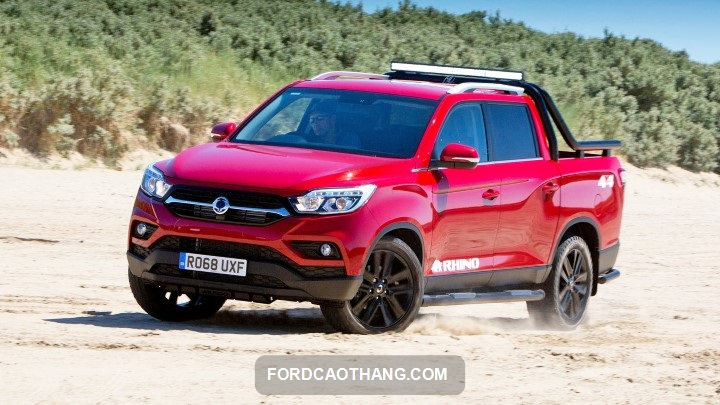 review xe Ssangyong Musso