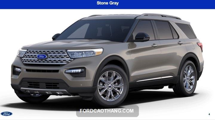 Ford Explorer 2022 Xám xanh