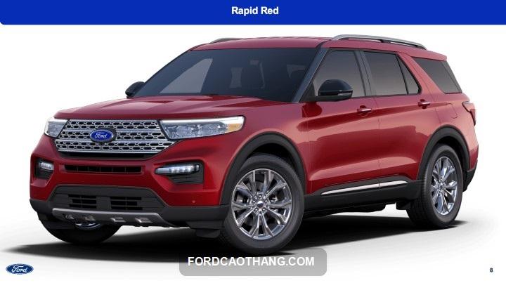 Ford Explorer mau đo