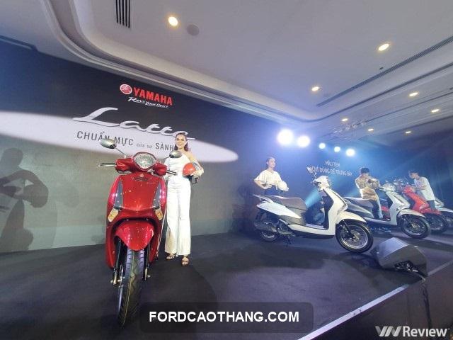 ra mat xe Yamaha Latte 2021