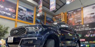 Ford Everest do cuc chat