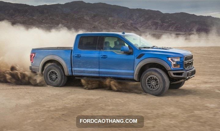 dong co xe Ford Ranger Raptor 2022
