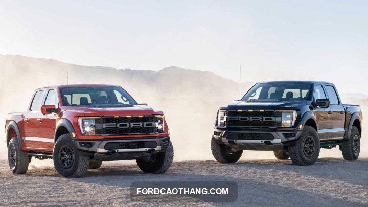 ra mat xe Ford Ranger Raptor 2022
