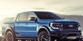 xe Ford Ranger Raptor 2022