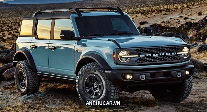 xe Ford Bronco 2022